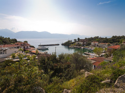 Der Hafen Vathy
