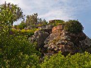 Runder Wehrturm auf der Akropolis Paliokastro bei Vathy / Methana (C) Tobias Schorr