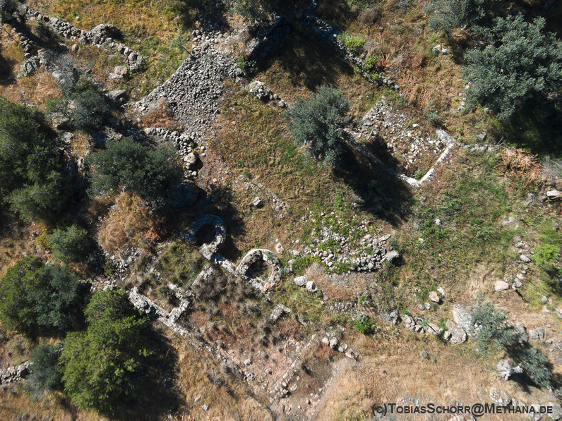 Aerial view of the excavation in May 2016. (c) Tobias Schorr