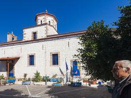 Die Papadi Kirche in Megalochori. (c) Tobias Schorr