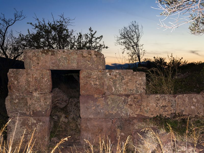 The ancient tower was first excavated by the German archaeologist Michael Deffner in 1912 (c) Tobias Schorr