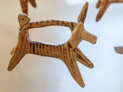 Mykenisches Reiteridol ca. 1500-1200 B.C.