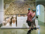 Im archäologischen Museum von Nauplion