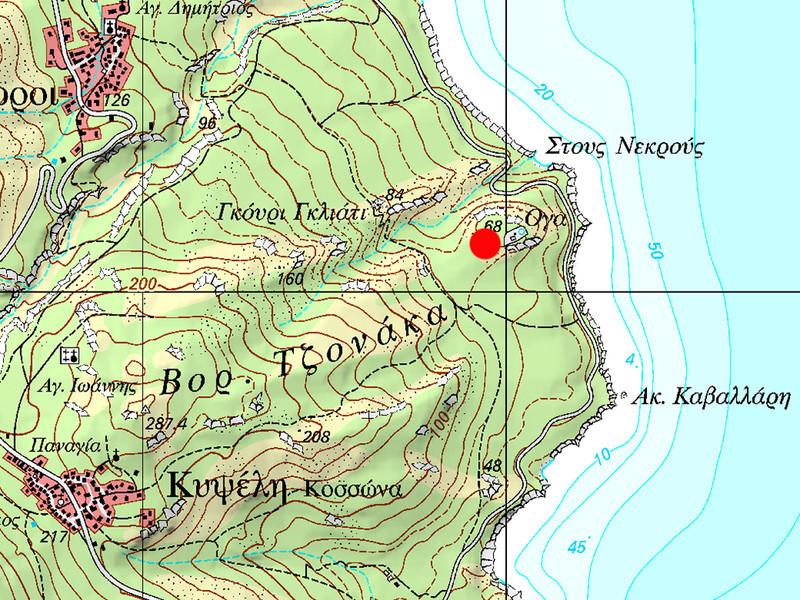 Wo befindet sich die Akropolis Oga? (c) Tobias Schorr