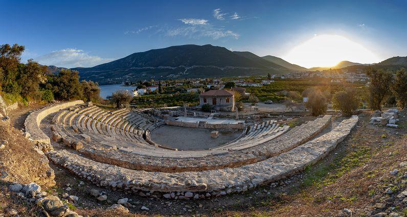 Das kleine Theater von Palia Epidavros