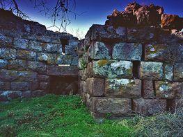 Eingangstor der antiken Akropolis Paliokastro (c) Tobias Schorr 1991