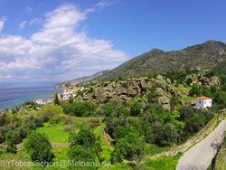 Η ακροπόλη των αρχαίων Μεθάνων, το Παλιόκαστρο στο Βαθύ
