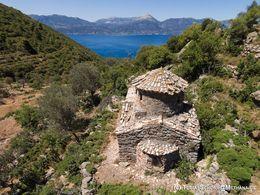 Die byzantinische Kapelle Panagitsa. (c) Tobias Schorr