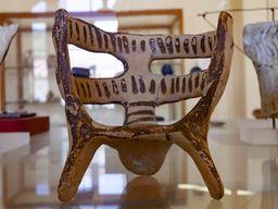 Mykenisches Möbelmodell