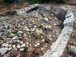 Gewölbe eines Bads aus römischer Zeit. (c) Tobias Schorr