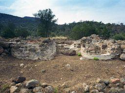 The two stoves of the Roman bath. (c) Tobias Schorr