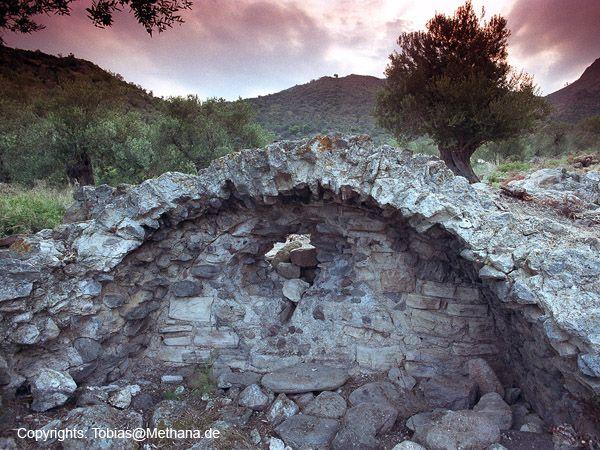 Reste des römischen Bads in der Thiafi-Bucht. (c) Tobias Schorr