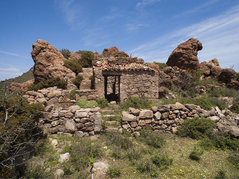 The ancient Roman farm site (c) Tobias Schorr 2008