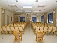 Der Konferenz-Saal im Hotel Saronis