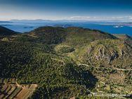 Εναέρια φωτογραφία προς τον βορά με θέα τον Σταυρολόγγο και όλα τα άλλα ηφαίστεια. Ιουνίος 2016. (c) Tobias Schorr