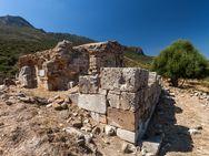 An Stelle der Episkopi-Kirche lag früher ein Aphrodite-Tempel