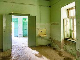Badezimmer im Hotel Aithra. (c) Tobias Schorr