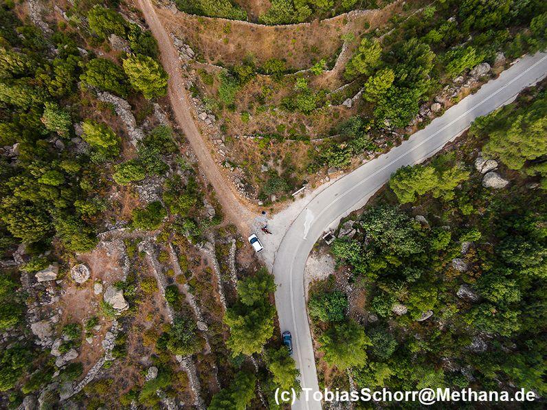 Aerial photo of the area. (c) Tobias Schorr