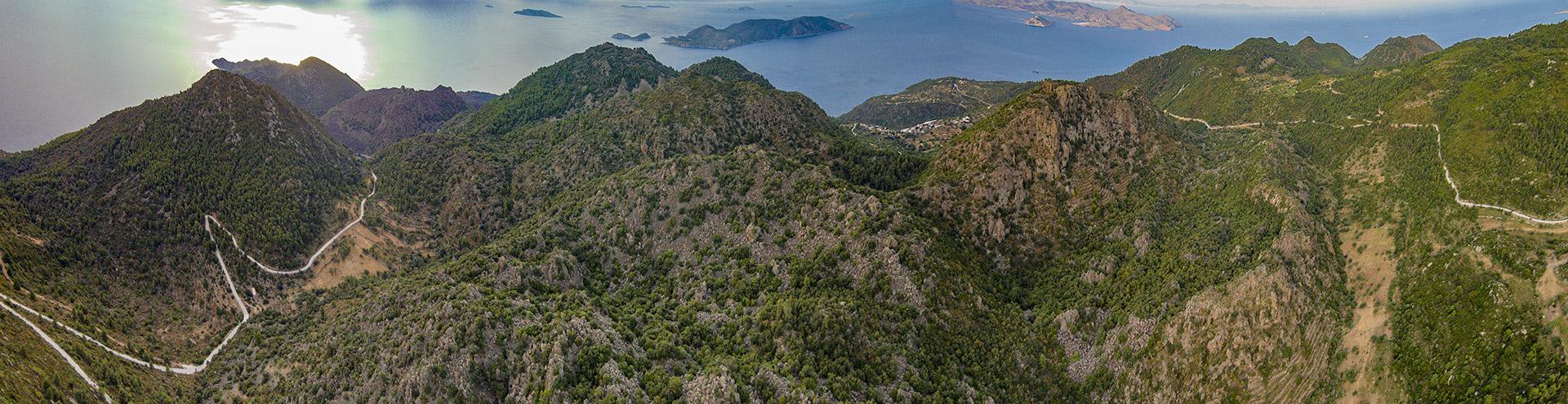 Luftbild von Nord-Methana. (c) Tobias Schorr