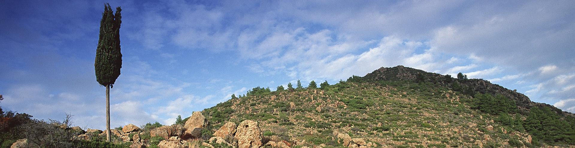 Τα αρχαία ερείπια στο Μεγαλοποτάμι