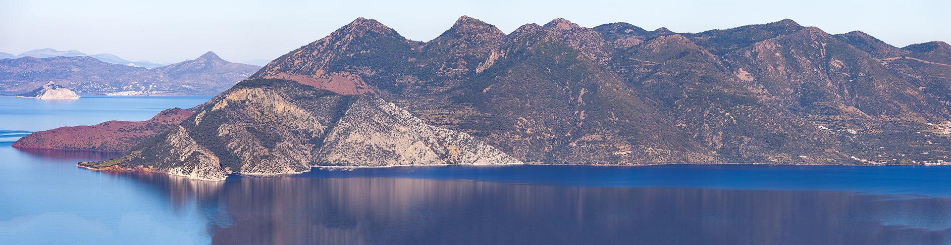Methana volcanic peninsula