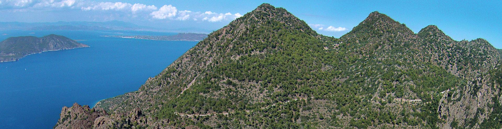 The volcano Malia Gliati