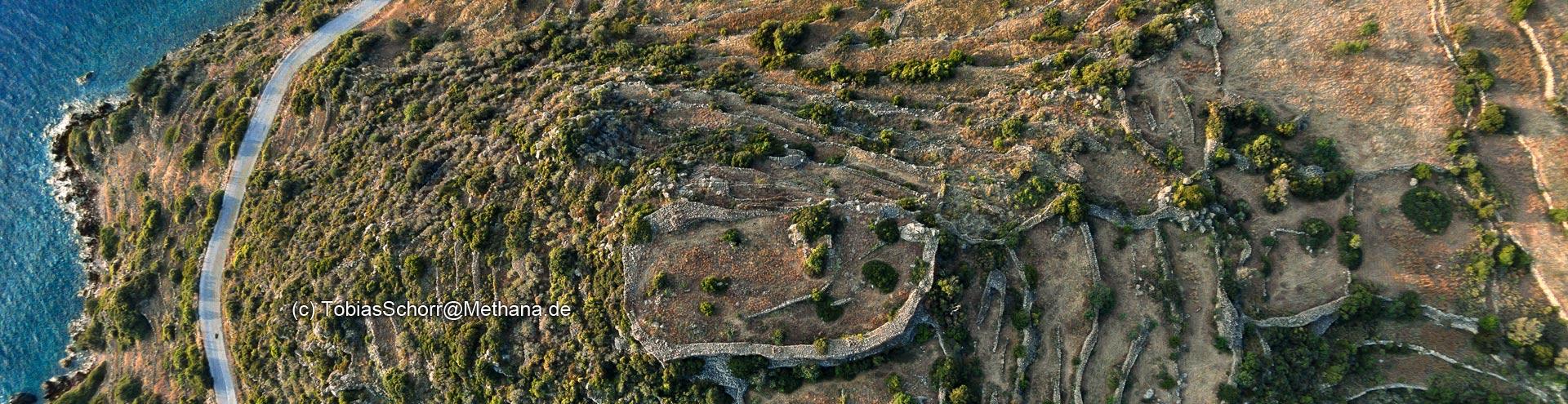 Die antike Akropolis Oga