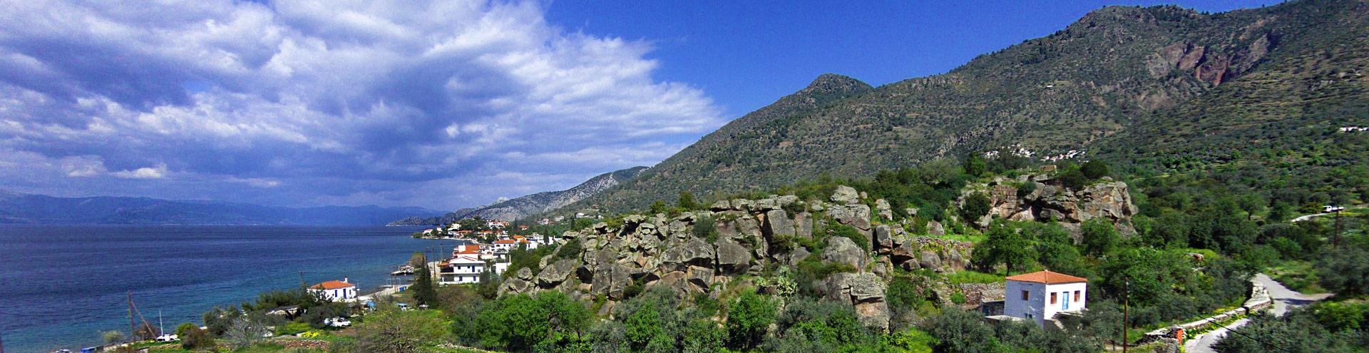 Η αρχαία ακροπόλη Παλιόκαστρο στο Βαθύ